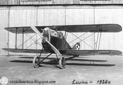 Balilla A-1 BAL 117 prod. krajowej ze Szkoły Pilotów w Bydgoszczy