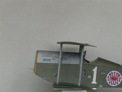 Ansaldo A1 Balilla - Skrzydła