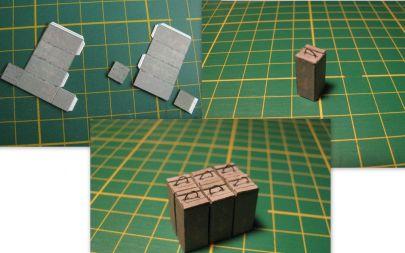 etap tworzenia skrzyń amunicyjnych
