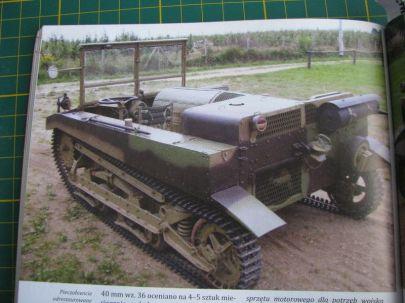 współczesna zrekontruowana wersja tego ciągnika