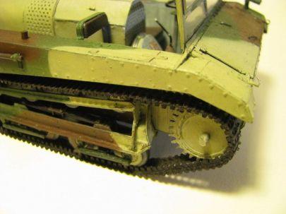 ciągnik artyleryjski C2P