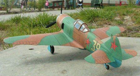 Samolot myśliwski Ła-7