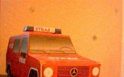 samochód strażacki mercedes-benz