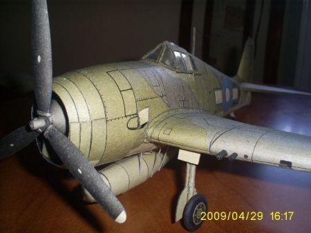 Samolot myśliwski GRUMMAN F6 F3 ,,HELLCAT