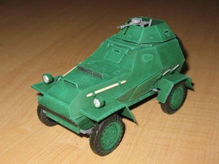 Radziecki samochód pancerny Ba 64 Poprawione malowanie