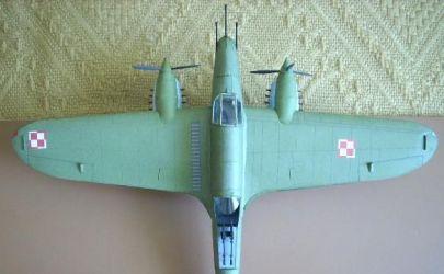 Samolot pościgowy PZL-38 Wilk