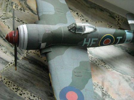 Samolot myśliwski Hawker Tempest F Mk II