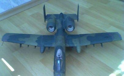 samolot szturmowy A-10