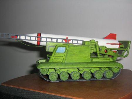 Samobieżna Wyrzutnia Rakietowa; ZSRR.