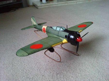samolot Ki-43 Ic Hayabusa