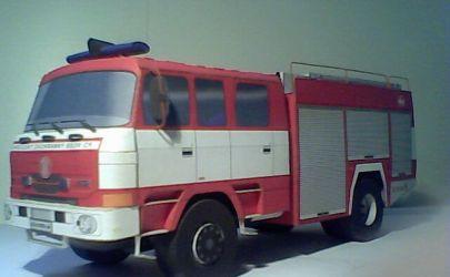 Samochód pożarniczy CAS 24 TATRA
