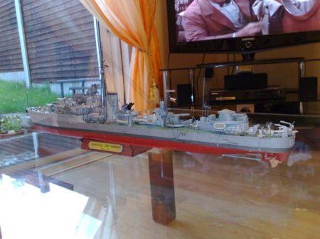niszczyciel ORP Piorun MM12/2001