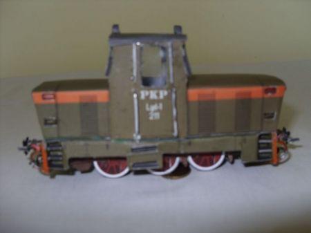 Lokomotywa wąskotorowa Lyd1-211