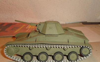 czołg lekki T-60 Model Card