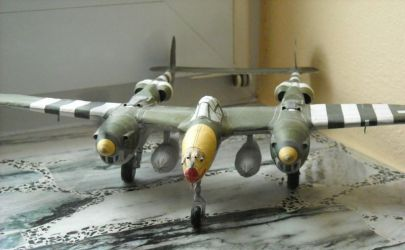 Samolot myśliwski P-38J Lighting
