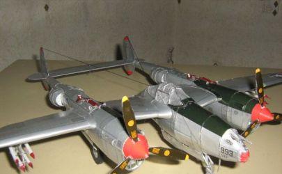 P-38J Lightning Amerykański myśliwiec (NOWE ZDIĘCIA)