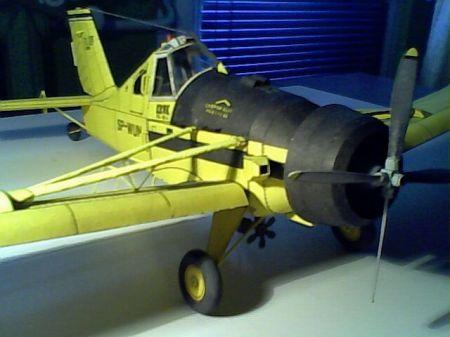 samolot rolniczy PZL-106A KRUK