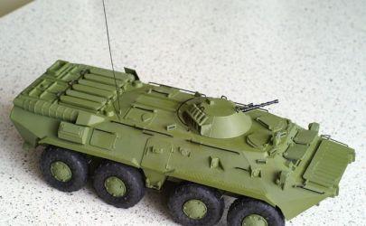 BTR-80 - Modelik 6/02