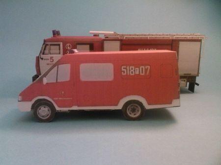 Gaz Gazella 27057 Czyli modelarskie marzenie spełnione