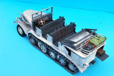 Sd.Kfz.7-ciągnik artyleryjski
