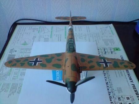 Samolot Myśliwski Messerschmitt Me 109G-2 Trop