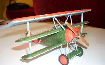 samolot myśliwski Fokker Dr.1