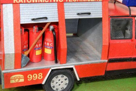 Polonez poltruck-wóz ratowniczy straży pożarnej