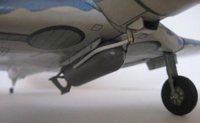 Amerykański bombowiec pokładowy Douglas SBD-3 Dauntless
