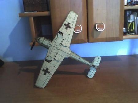 Samolot Myśliwski Me 109 E