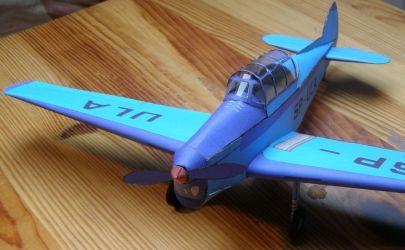 Samolot Zlin-26 MM 2/1958