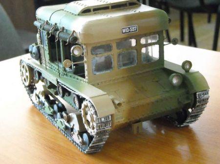 Ciągnik artyleryjski C7P 1939r.