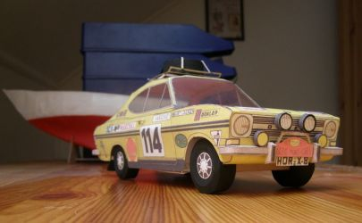 Opel Сadett Coupe Rally LS  MM 2/1972