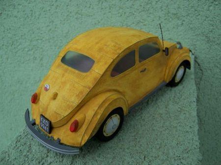 Volkswagen Garbus. Skala 1:24. Wydawn. Zetka nr 2/00