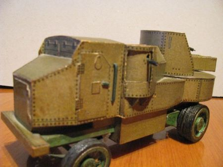 Samochód pancerny Putiłow-Garford