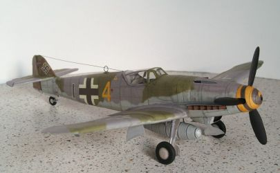 Me-109 K4 - Answer ModelArt nr 2-3