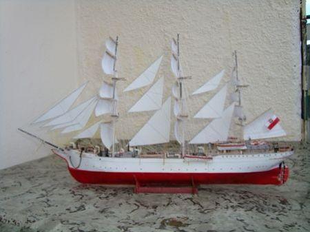 Polski statek żaglowy Dar Pomorza