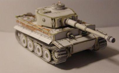 PzKpfw VI Tiger Ausf. H1 1:72