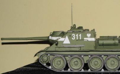 Działo samobieżne Su-85