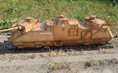 Panzerjager - Triebwagen 51 - GPM