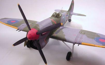 HAWKER  TEMPEST  Mk .V