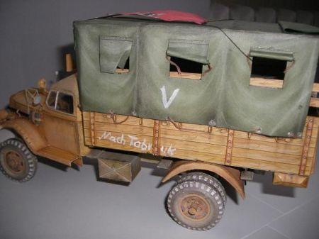 Opel Blitz- wersja skrzyniowa. GPM