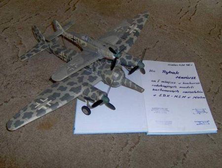 Mistel 2 (Ju-88 & Fw-190) - (FLY)