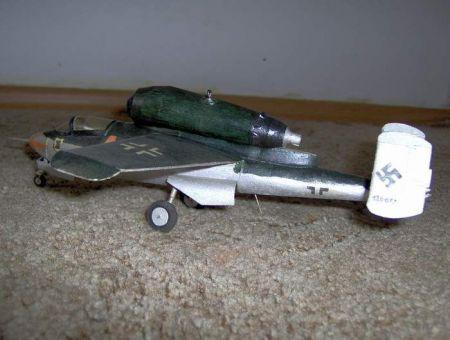 Heinkel He-162 (własna konstrukcja)