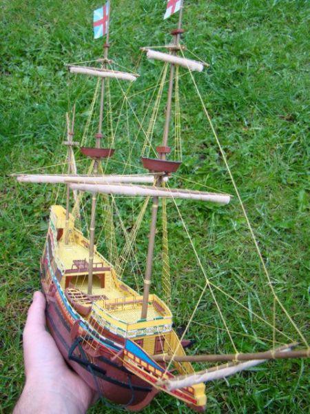 Żaglowiec Mayflower MM1-2 89r