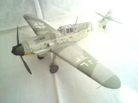 MM Messerschmitt me 109 Gustaw