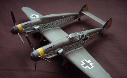 Messerschmitt Bf 109 Z (Zwiling)