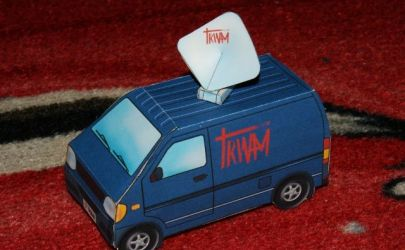 Wóz transmisyjny TRWAM:)