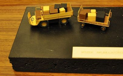 Wózek akumulatorowy 1/87 GPM