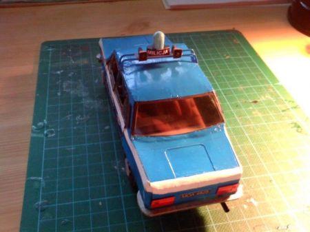 Fiat 125p MILICJA