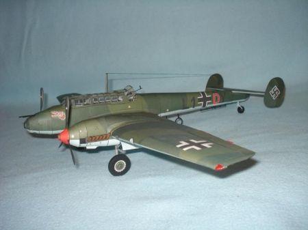 MM Messerschmitt Bf 110 C-1